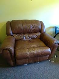 big and tall leather recliner couch recliners