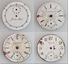 Scrapbooking Freebie Clock Faces