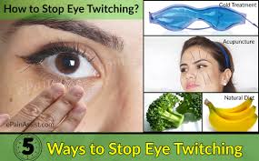 how to stop eye twitching