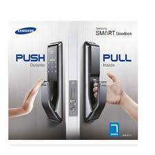 electronic front door lockSamsung SHS P710 Keyless Digital Keypad EntryDoorLock Push  Pull