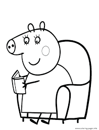 peppa pig printable coloring pages pdf free co