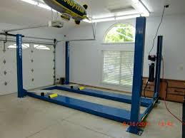 high lift garage door914Worldcom  BendPak 4 post lift