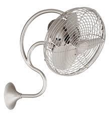 oscillating wall fan. Melody Oscillating Wall-mount Fan, Brushed Nickel Wall Fan