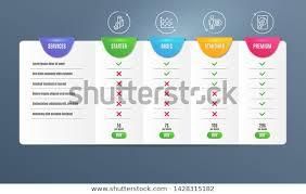 Cogwheel 3d Chart Dot Plot Icons Stock Vector Royalty Free