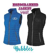 Monogrammed Charles River Quilted Vest from Bubbles Embroidery & Monogrammed Charles River Quilted Vest womens ladies lightweight packable  personalized Adamdwight.com