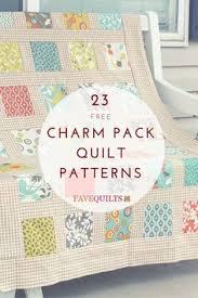 Free Patterns Using Charm Packs | Quilt Patterns Using Charm Packs ... & The Most Charming: 23 Charm Pack Quilt Patterns. Adamdwight.com