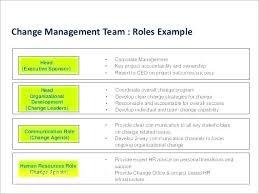 Change Management Excel Template