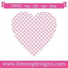 Svg, png, dxf & esp files in zip. Free Svg Cut File Heart With Scales Eps Png Dxf Included