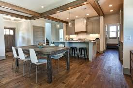 amazing engineered hardwood flooring pros and cons in dining kitchen ideas with rustic wooden table wood