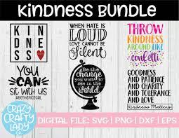 Kindness Svg Cut File Bundle