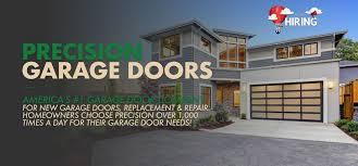 choose precision garage doors