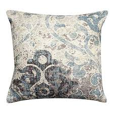 decorative accent pillows. Contemporary Pillows ThymeHome Exotic Iris Printed Hand Woven Dhurri Indoor Pillow  100  Cotton Decorative Accent Inside Pillows