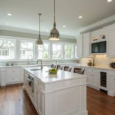 Kitchen Cabinets With Windows Kitchen Awesome White Black Wood Glass Modern Design White