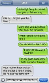 10 hilarious dad texts 2 father s day ride
