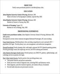 Awesome Nurse Practitioner Resume Template Resume Examples For