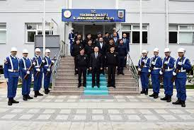 Vali Aziz Yıldırım İl Jandarma Komutanı J. Kd. Alb. Osman Kılıç'a İade-i  Ziyarette Bulundu