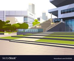 Office Building Exterior Design Modern Office Building Stairs Exterior View Over