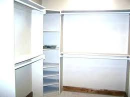 track shelves home depot shelf shelving closet maid wire fast installation