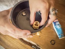 install the spigot