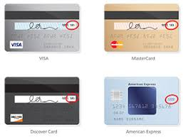 Sample Credit Card Security Code Magdalene Project Org