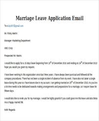 reason for leaving examples 4 leave application email examples samples