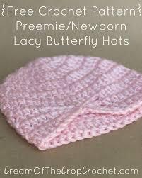 Crochet Preemie Hat Pattern New 48 Free Preemie Hat Crochet Patterns Crafty Tutorials