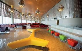 Departure Lounge at the International Airport, Mumbai