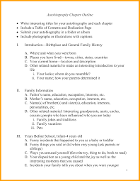 Autobiography Outline Sample 4 Discover China Townsf
