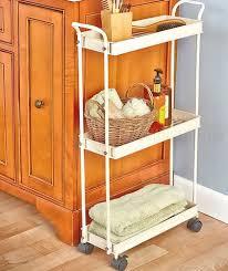 slim space saver storage cabinet shelves shelf narrow bathroom