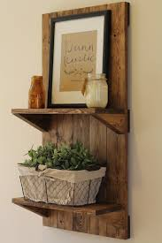 vertical rustic wooden shelf furniture in ideas decor 18
