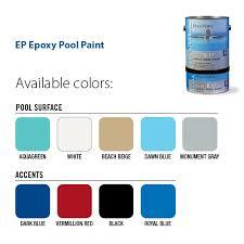 pool paint colorsType EP Epoxy