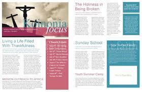 The Power Of A Printable Newsletter Template Sharefaith