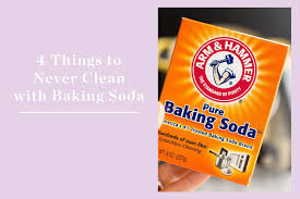 4 Things You Should Never Clean with Baking Soda