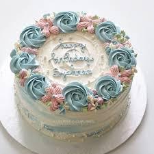 Simple Cake Frosting Designs Tortas Con Rosetones Cake Decorating Cake Designs Cake