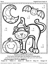 Math Coloring Sheet 1st Grade Coloring Pages For First Grade Math
