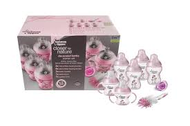Tommee Tippee Pink Decorated Bottles tommee tippee closer to nature deco end 100010001000 100100 PM 35