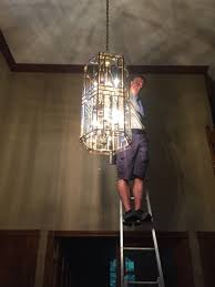 let our professionals clean and re your chandelier back to its showroom shine our services