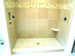 custom shower pan kit shower floor pan custom shower floor pan kit custom tile shower pan