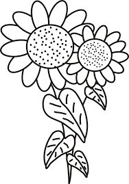 Small Picture Sunflower Coloring Page Sunflower Coloring Pages In Flowers