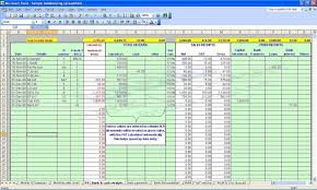 Payroll Spreadsheet Template Excel And Excel Payroll Formulas