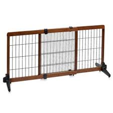 carlson extra tall free standing pet gate wide pet gates n50