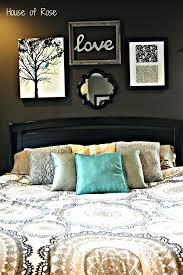 master bedroom wall art diy makeover