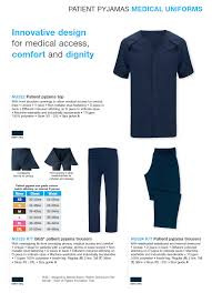 Healthcare Brochure Enchanting Patient Pyjama Top And Trousers Full Brochure Can Be Downloaded