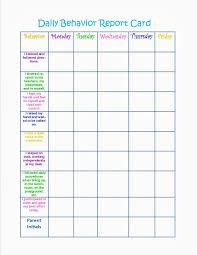 Behavior Charts Printable For Kids Activity Shelter