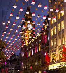 Bourke Street Mall Catenary Lighting System By Ronstan