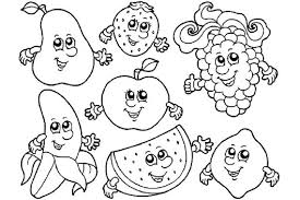 food coloring pages with faces fruit food coloring pages with faces coloring pages cute food food on cute food coloring pages