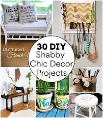 30 diy shabby chic home decor ideas
