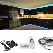 led kitchen cabinet and toe kick lighting waterproof high power rgb led flexible light strip