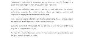 Letter Of Employment Samples Letter Of Termination Of Employment Sample Termination Letter Free