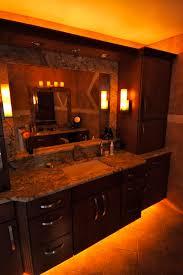 under cabinet rope lighting. led rope lights under the bathroom vanity great idea cabinet lighting h